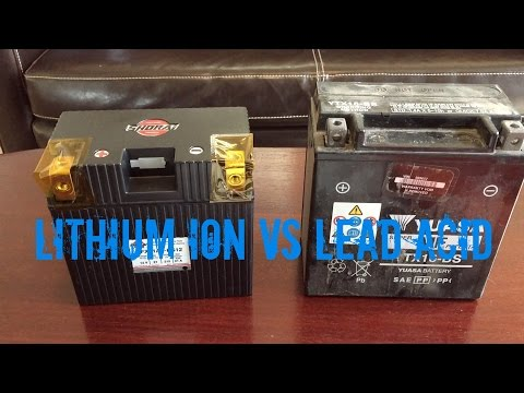 Lithium Ion vs Lead Acid Battery