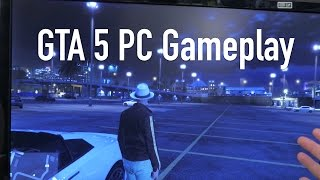 GTA 5 PC Graphics VRAM Comparison & Gameplay!