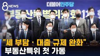 """""""세 부담 · 대출 규제 완화""""…부동…"""
