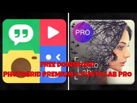 [REVIEW & FREE DOWNLOAD] PHOTOGRID PREMIUM & PHOTO LAB PRO. Aplikasi Untuk Edit Photo Terbaik 2019.