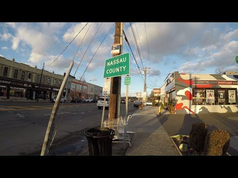 Queens, NYC / Nassau, Long Island Border Line Exploration