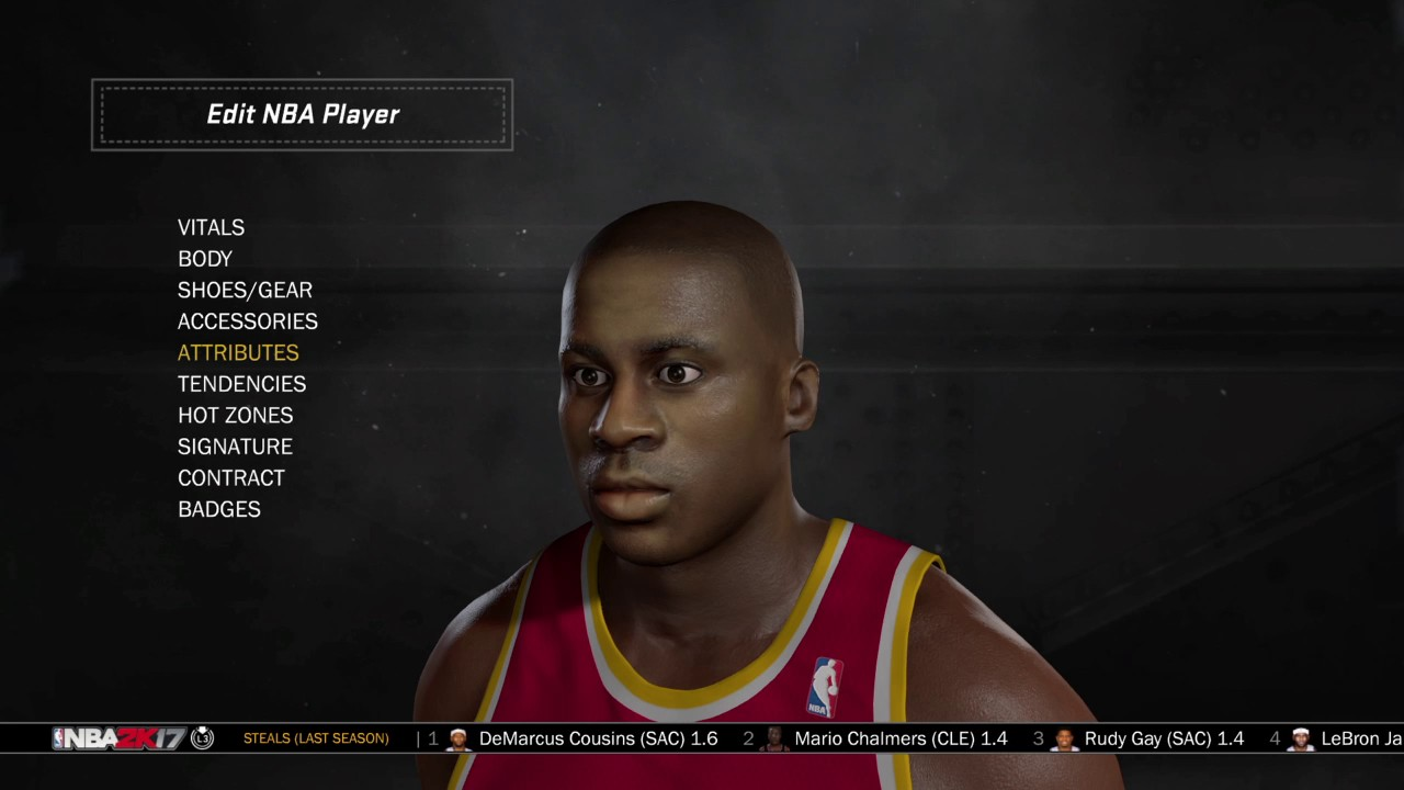NBA 2k17 Vernon Maxwell 93 94