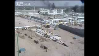 PEMEX refinery explosion  two angles