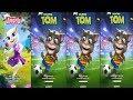 MY TALKING ANGELA VS 3 MY TALKING TOM  - BEST KID GAME FREE ONLINE