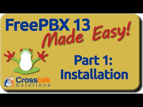 FreePBX 13 Made Easy - Part 1 - Installation - YouTube