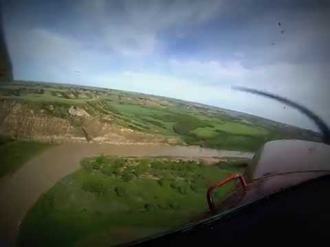 Flying ND Badlands part 1