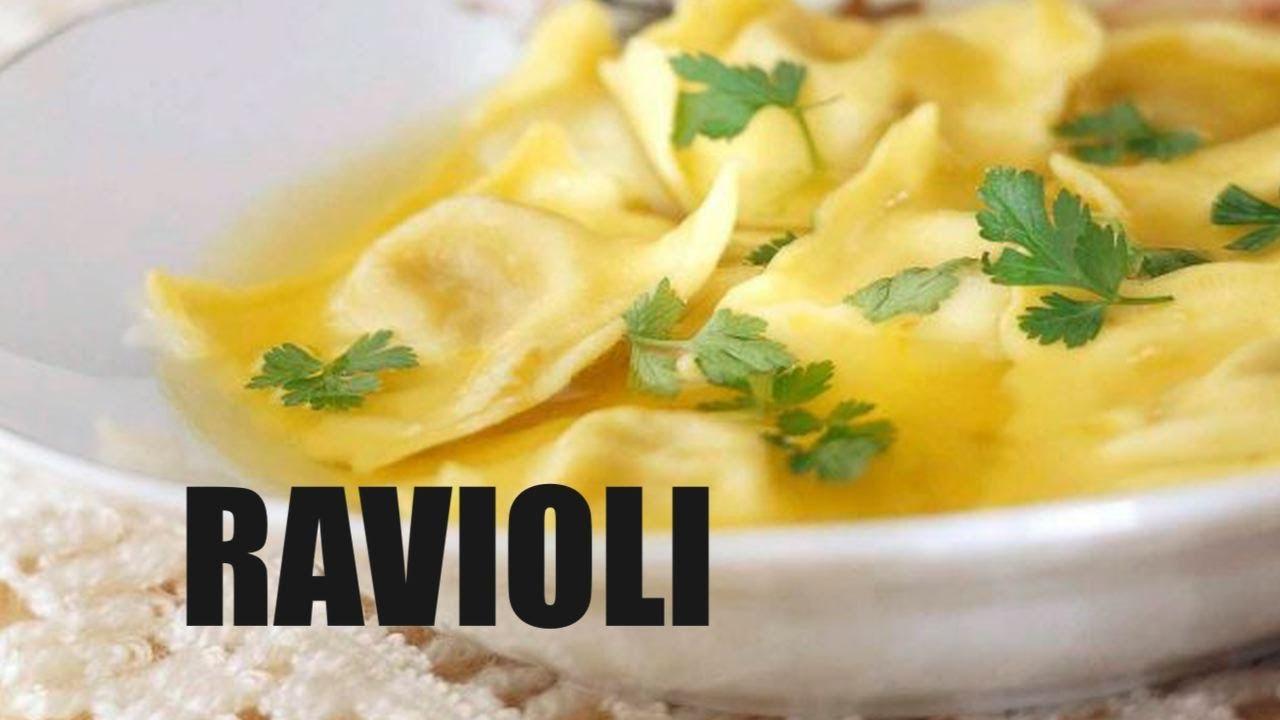 Jak zrobić Ravioli ze szpinakiem i ricottą  przepis   -> Kuchnia Gazowa Jak Indukcyjna