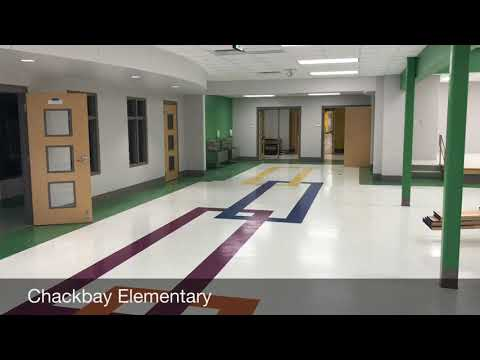The new Chackbay Elementary School