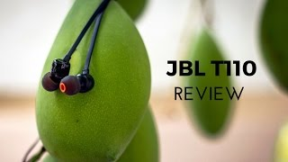 JBL T110 In-Ear Earphones Review - Pure Bass!?!