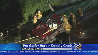Pro Golfer Bill Haas OK After Ferrari Crash Kills Friend