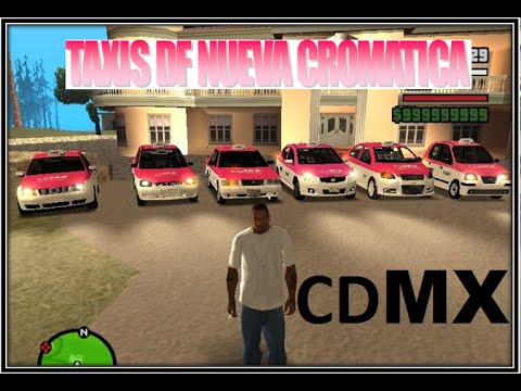 PACK DE TAXIS DF NUEVA CROMATICA gta san andreas (LINK MEDIA