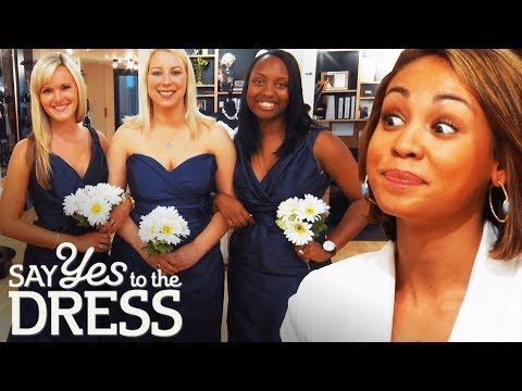 Ex-Mean Girl Gets Catty With Her Bridesmaids! | Say Yes To The Dress Bridesmaids. http://bit.ly/2JHxj9e