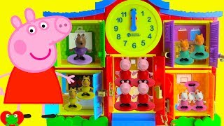 Learn Counting and Time with Peppa Pig Preschool