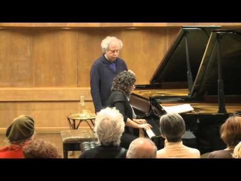 Masterclass with Andras Schiff (Avia Doron, piano)