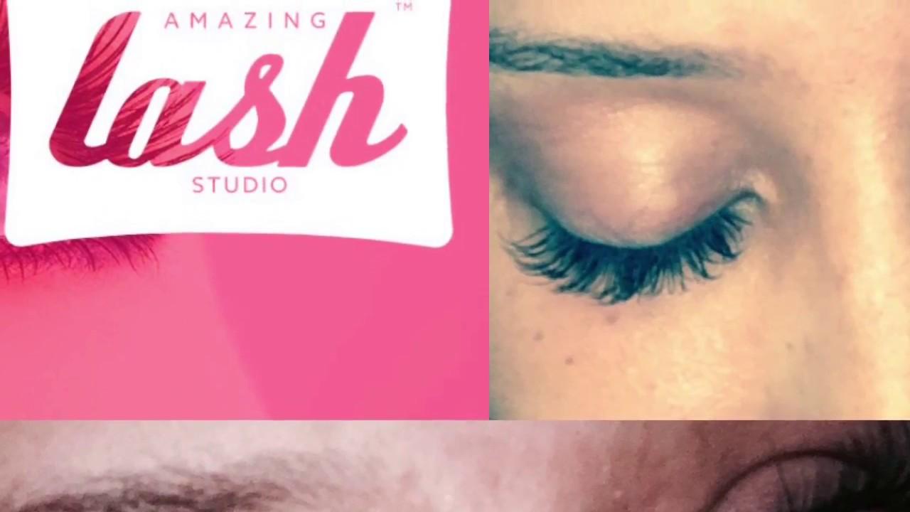 Amazing Lash Studio Lash Extension Review Youtube