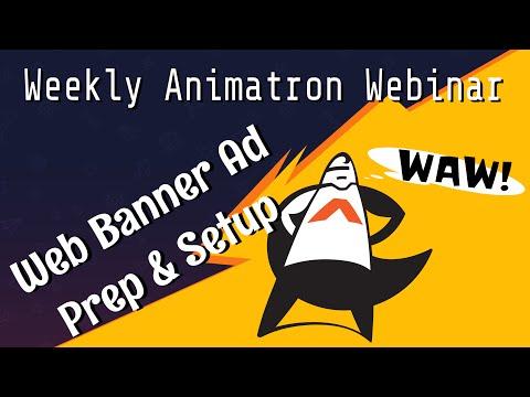 Weekly Animatron Webinar - Creating your own Web Banner Ad - Prep & Setup (Nov. 4, 2015)