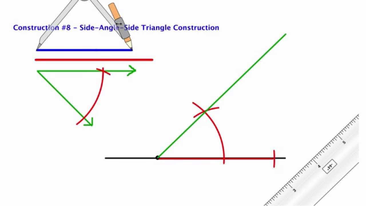 how to solve sas triangle