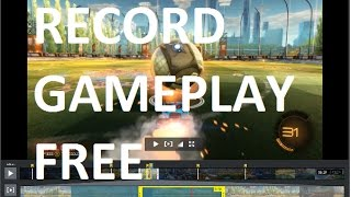 How to Record Gameplay on PC with Free Recording Software with no lag/No Branding