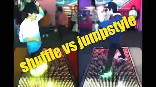Gambar cover 【#2】shuffle vs jumpstyle in DANCERUSH STARDOM #DANCERUSH_STARDOM