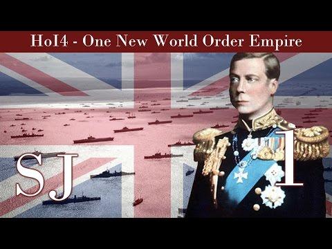 United Kingdom   Hearts of Iron IV   One New World Order British Empire # 1