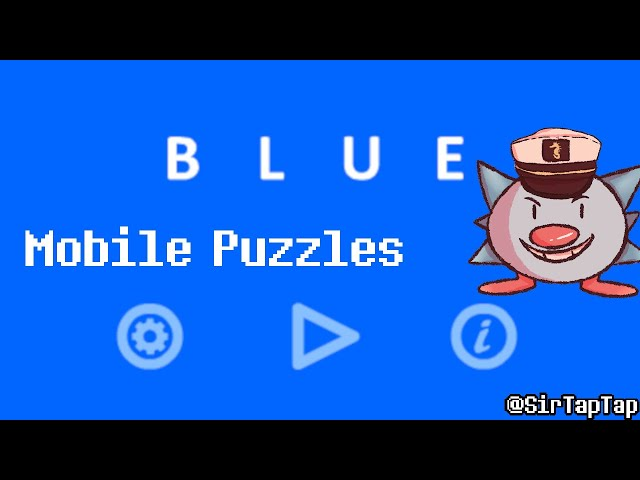 Let's Play Blue by Bart Bonte   Make the screen one color! How hard can it be?