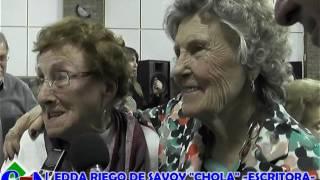 PRESENTACIÓN LIBRO EDDA CHOLA RIEGO