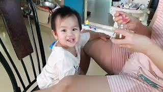 Khi bé 1 tuổi kén ăn được cho ăn yến sào