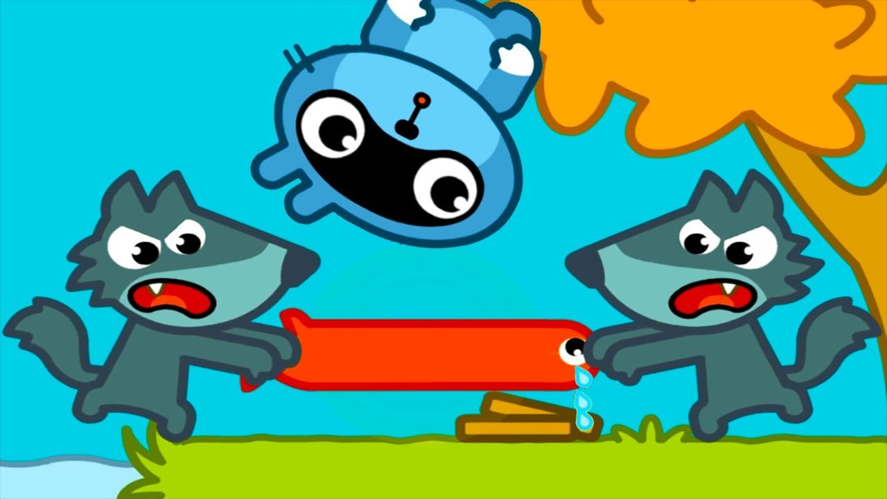 Download Pango Storytime(New Update) - Wolves Fishing, Piggy The Bath, Fox Handyman - New Funny Stroy
