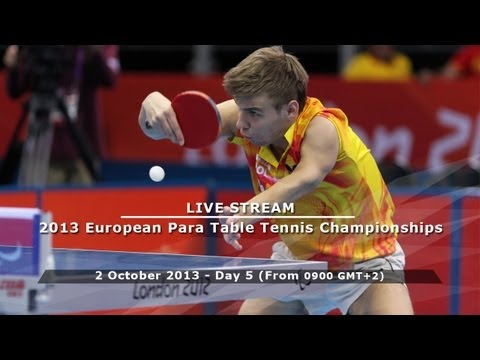 2013 European Table Tennis Para Championships - Day 5