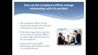 Compliance Officer Roles and Responsibilities