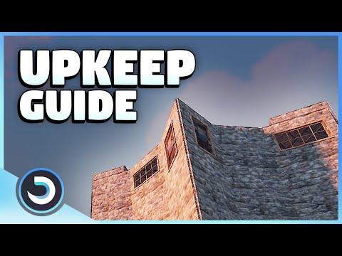 Upkeep Building Guide   Rust Tutorial