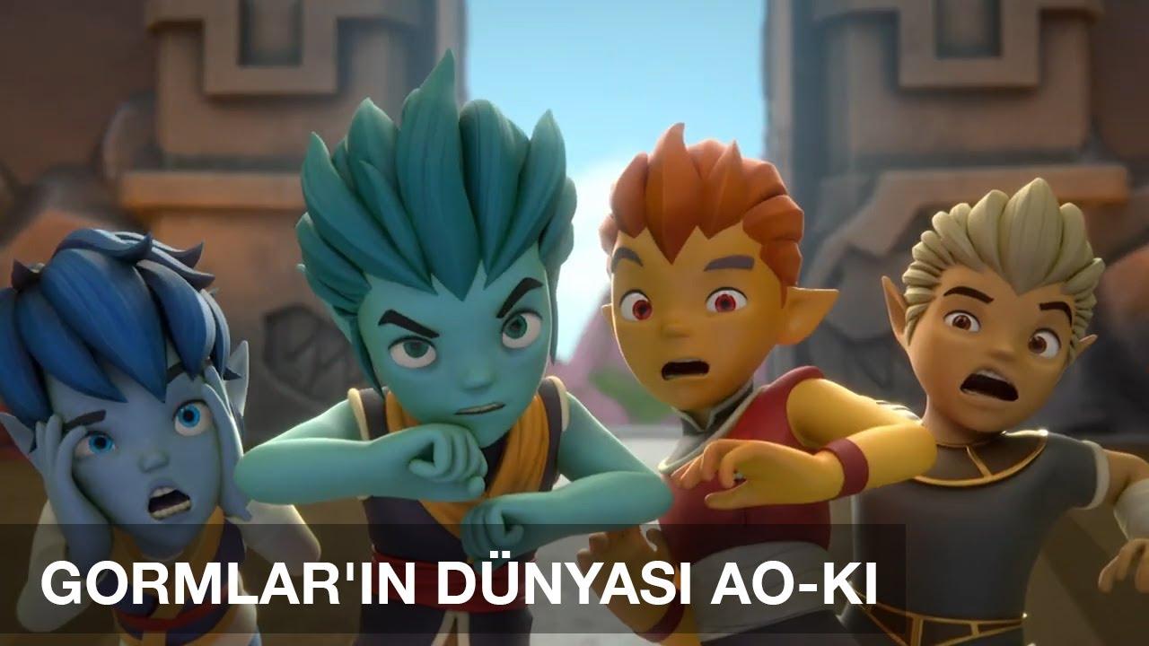 Gormiti Türkçe | Gormlar'ın Dünyası: Ao - Ki