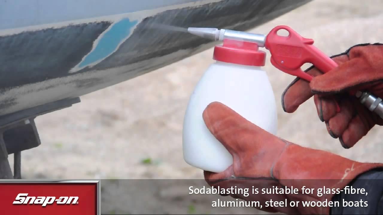 Snap-on UK - JWLSB1 - Soda Blaster with 1kg Soda
