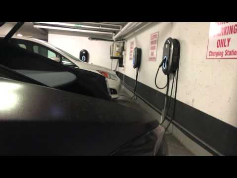 My First Time Charging At A Non Tesla Charger