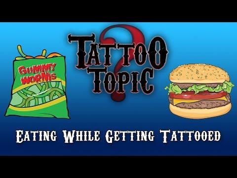 Tattoo Topic - Eating While Getting Tattooed