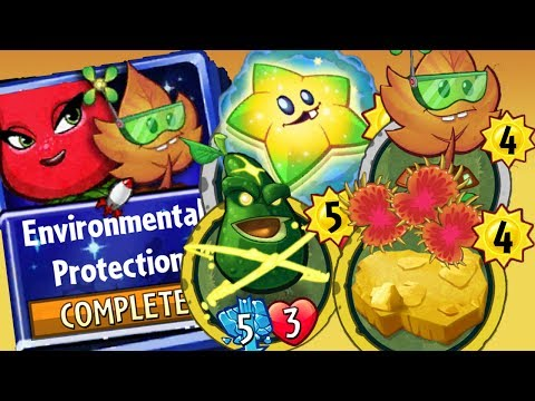 Plants vs Zombies Heroes Gameplay Rose's Environmental Protection Strategy Deck - Awesome Heal Deck