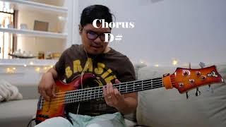 Sampai akhir hidupku - JPCC worship bass cover