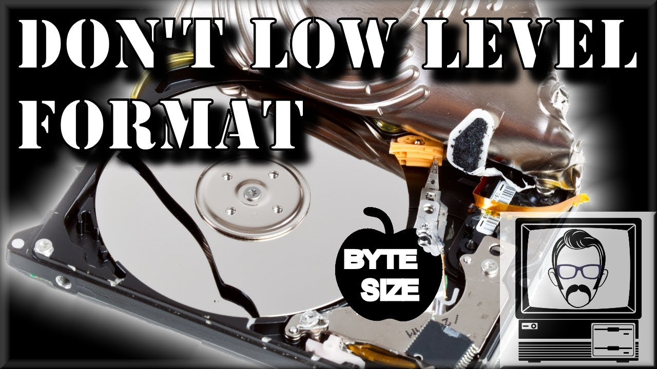 Why you Shouldn't Low Level Format Your Hard Drive   Nostalgia Nerd