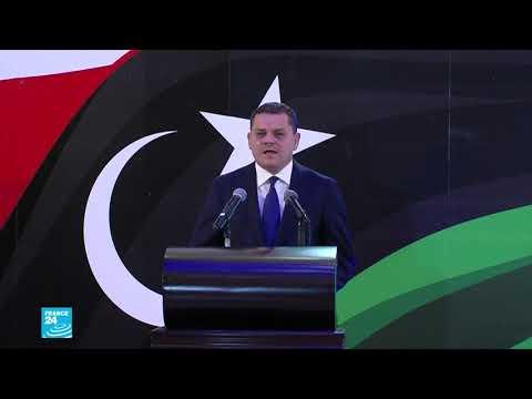 رئيس الوزراء الليبي عبد الحميد دبيبة يسلم تشكيلة الحكومة الجديدة للبرلمان  - نشر قبل 21 دقيقة