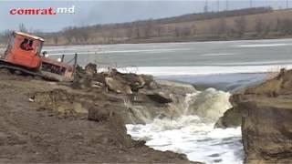 Прорыв плотины на Комратском озере: как ...