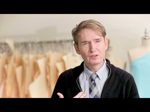 The story of the scarf: David Dixon and Dr. John Semple