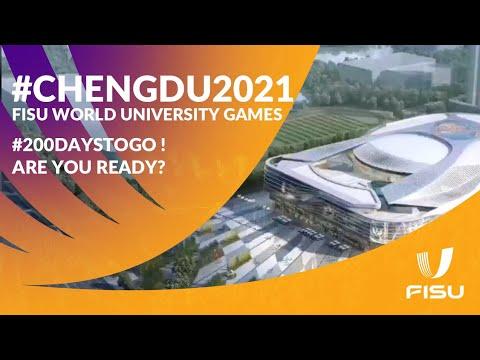 #Roadto2021 Chengdu 2021 FISU World University Games, #200daystogo ! Are you ready?