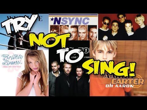 TRY NOT TO SING ALONG CHALLENGE 90s/2000s