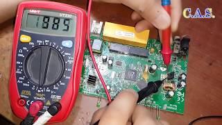 Ta'mirlash Wi-Fi router TP-LinK TD-W8961ND, 220 uchun odatlanib up Volts