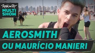 Aerosmith X Maurício Manieri   Maicon Santini   Rock in Rio 2017