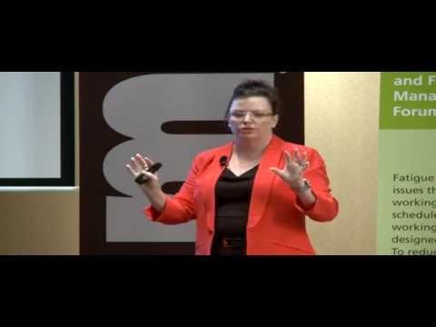 Linking fatigue policy to behaviours and results - Helen Wood, TMS Consulting