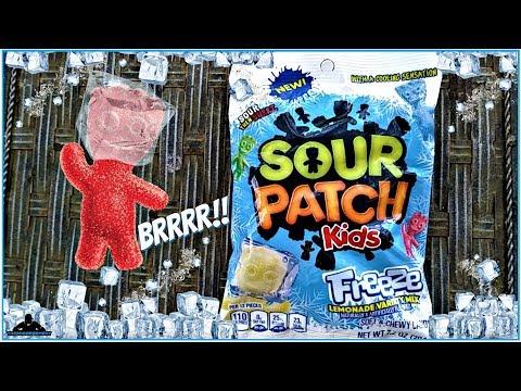 Sour Patch Kids®   Freeze Review!   Lemonade Mix