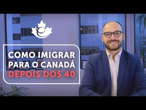 COMO IMIGRAR PARA O CANADÁ DEPOIS DOS 40 ANOS