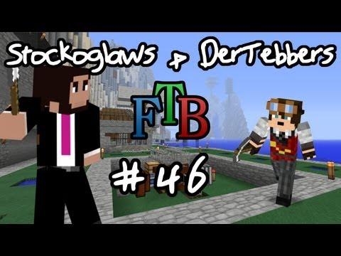 Lets Play Minecraft FTB Co-Op W/ Dertebbers - Ep 046 streaming vf