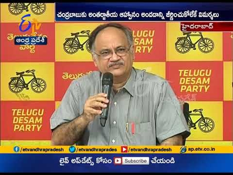 Planning Board Vice Chairman Kutumba Rao Criticize BJP